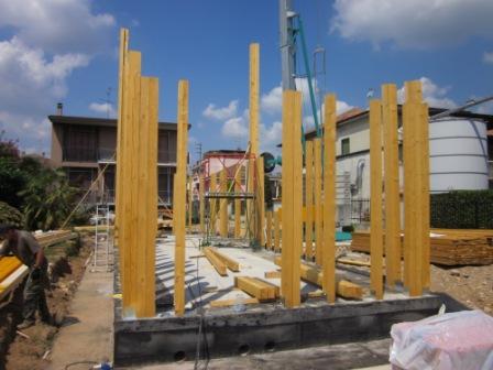 construction maison en bois phase 2 construire ma maison. Black Bedroom Furniture Sets. Home Design Ideas