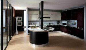 contemporary flux kitchen design