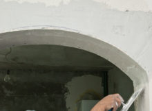 Application enduit plâtre