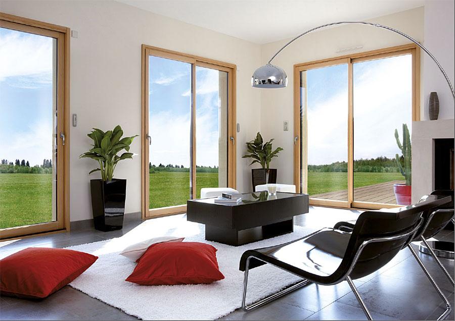 Fen tre bois aluminium ou pvc construire ma maison for Fenetre pvc couleur bois prix