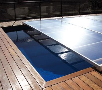 Un abri piscine plat ou cintr construire ma maison - Ipoclorito di calcio per piscine ...