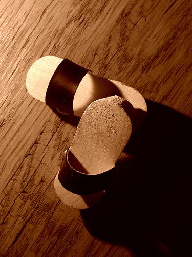 Sabot en bois