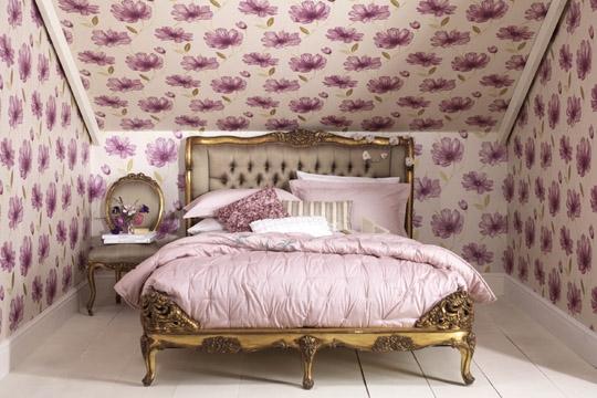 142099 papier peint chambre construire ma maison. Black Bedroom Furniture Sets. Home Design Ideas