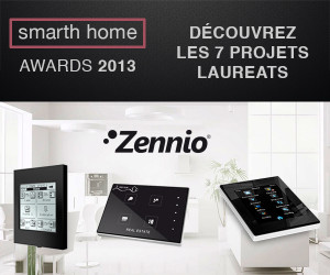 "Zennio KNX aux "" SmartHomes Awards "" sur Interclima 2013"