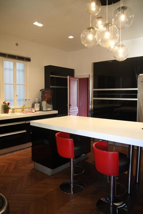 Cuisine moderne et d coration tendance construire ma maison - Eclairage pour cuisine moderne ...