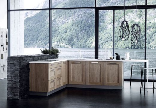Mod les d lot de cuisine tendance construire ma maison for Ilot de cuisine en l