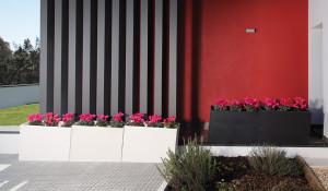Jardiniere bac a plante beton fibre