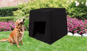 Modèle de niche pour chien design