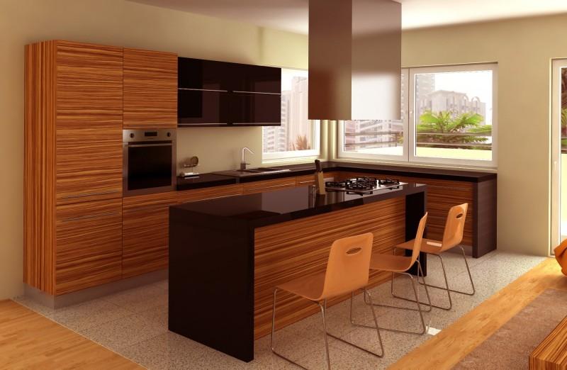 Cuisine moderne et d coration tendance construire ma maison for Cuisine contemporaine bois
