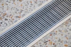 Le caniveau pour drainage de batiment