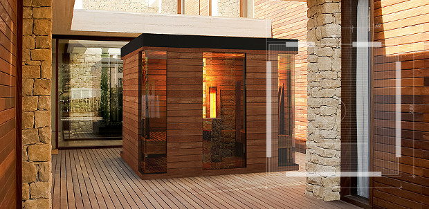 sauna design construire ma maison. Black Bedroom Furniture Sets. Home Design Ideas