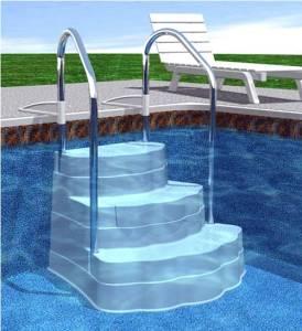 Echelle et escalier piscine