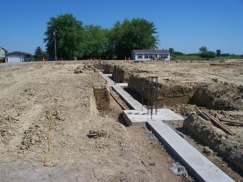 Choisir une fondation pour un batiment construire ma maison for Building a house on concrete piers