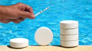 Outil pour analyse eau piscine
