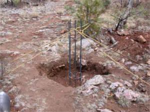 fondation terrain rocheux