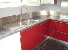 credence inox cuisine rouge 300x225
