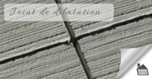 joint de dilatation