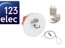 raccorder un luminaire avec une boite DCL