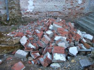 Déchets de bâtiment