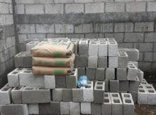 bloc beton parpaing moellons