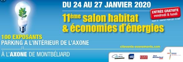 Salon de lhabitat et de lénergie de Montbéliard 2020
