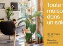 Salon Habitat Jardin a Beaulieu Lausanne 2020