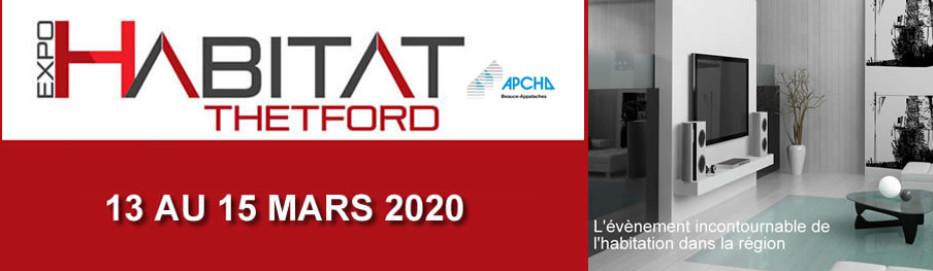 Salon Expo Habitat a Thetford 2020